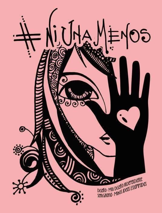 La ilustración de #NiUnaMenos