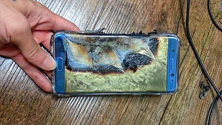 Samsung Galaxy Note 7 explota mientras es cargado | CNN