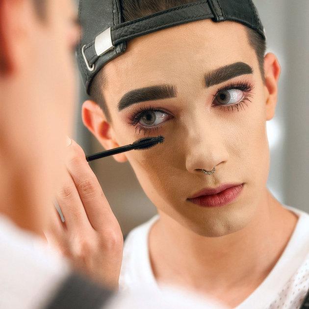 Primer rostro masculino de Covergirl