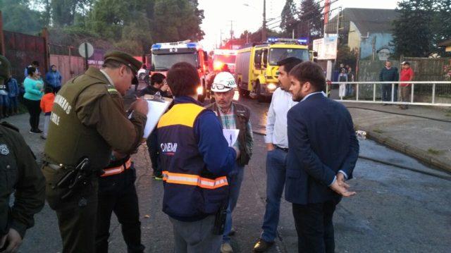 Investigan intencionalidad en incendio de hospedería de Traperos de Emaús en Temuco