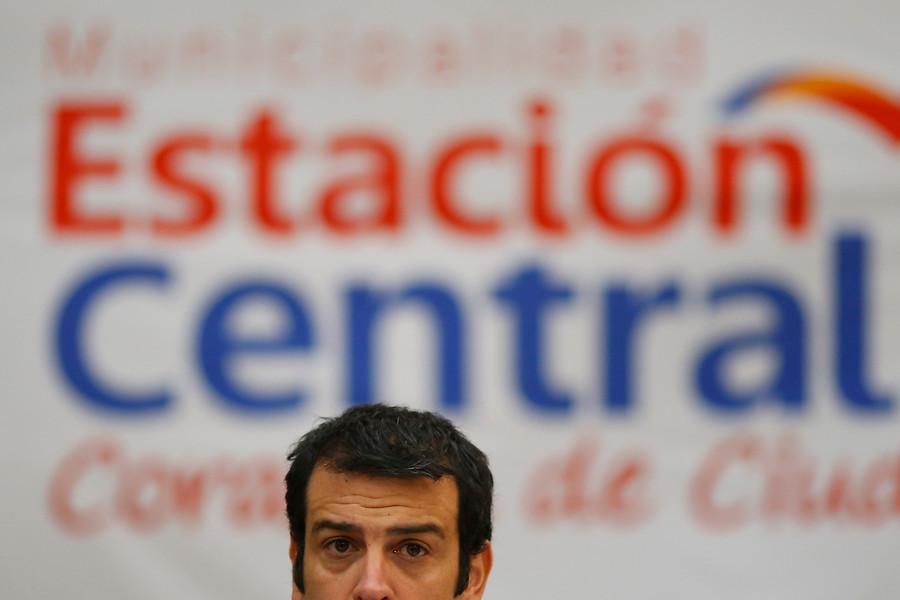 Rodrigo Delgado, alcalde de Estación Central | Agencia Uno