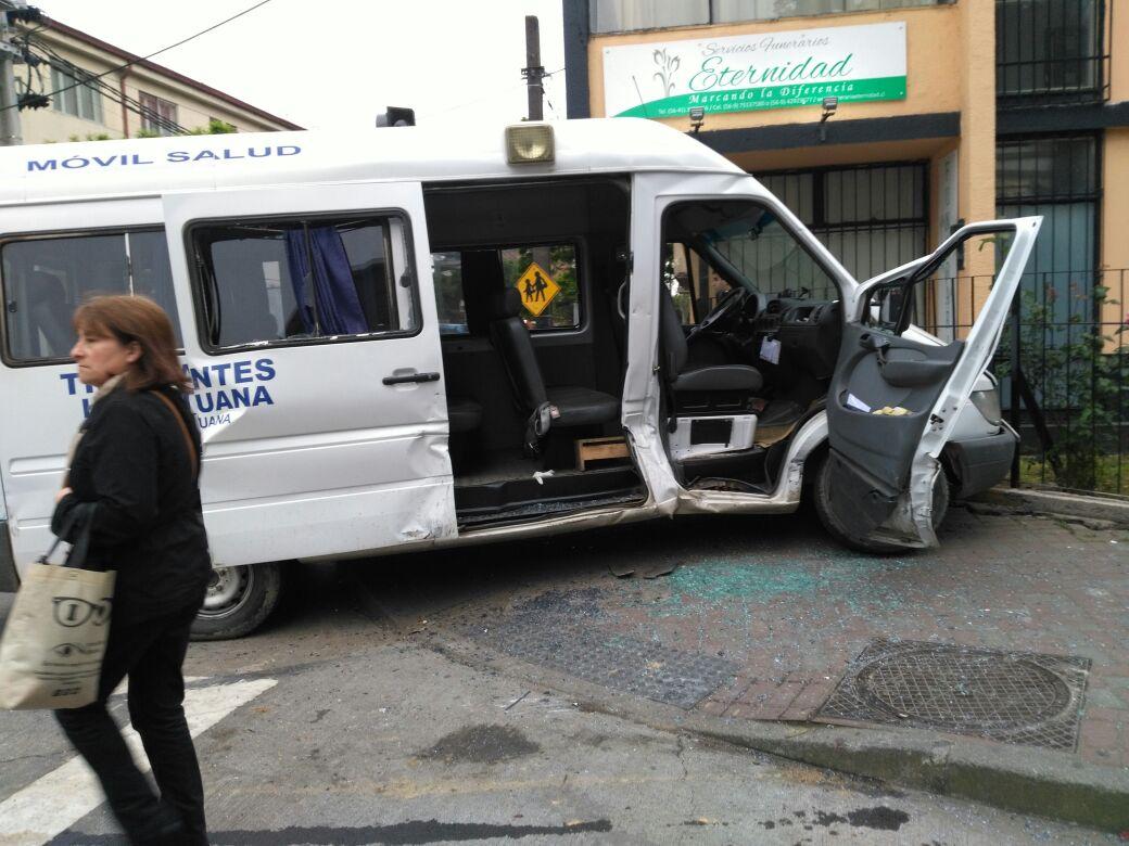 Accidente de tránsito en Concepción