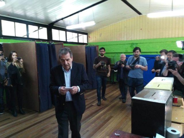 Eduardo Frei: esperamos que nos vaya bien en estas elecciones