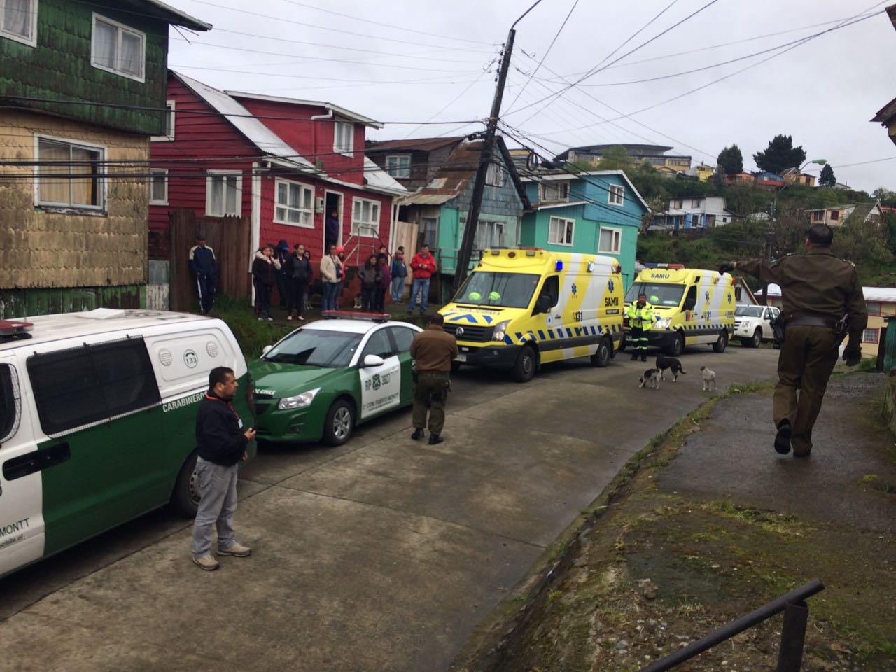 Segundo femicidio en una semana en Puerto Montt: Hijo de la pareja alertó a Carabineros
