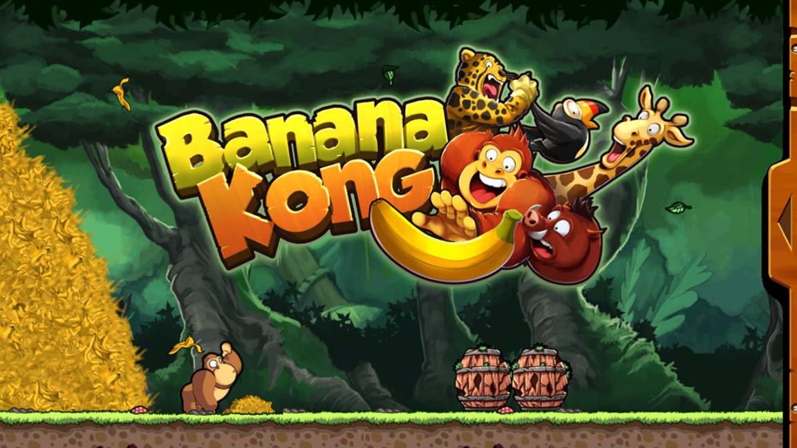 Banana Kong: el popular videojuego chileno que suma más de 100 millones de descargas