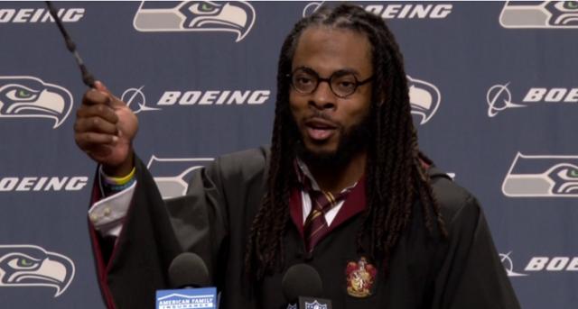 Sherman sorprendió a todos en la NFL