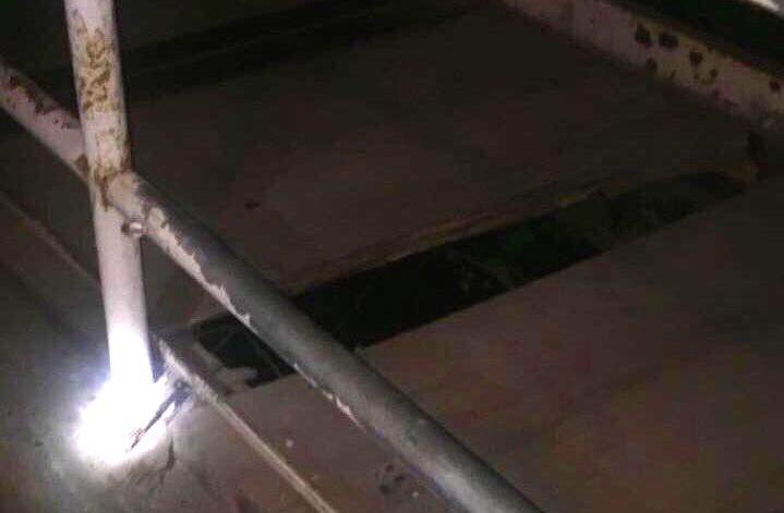 cruce peatonal Machalí menor 3 años cae