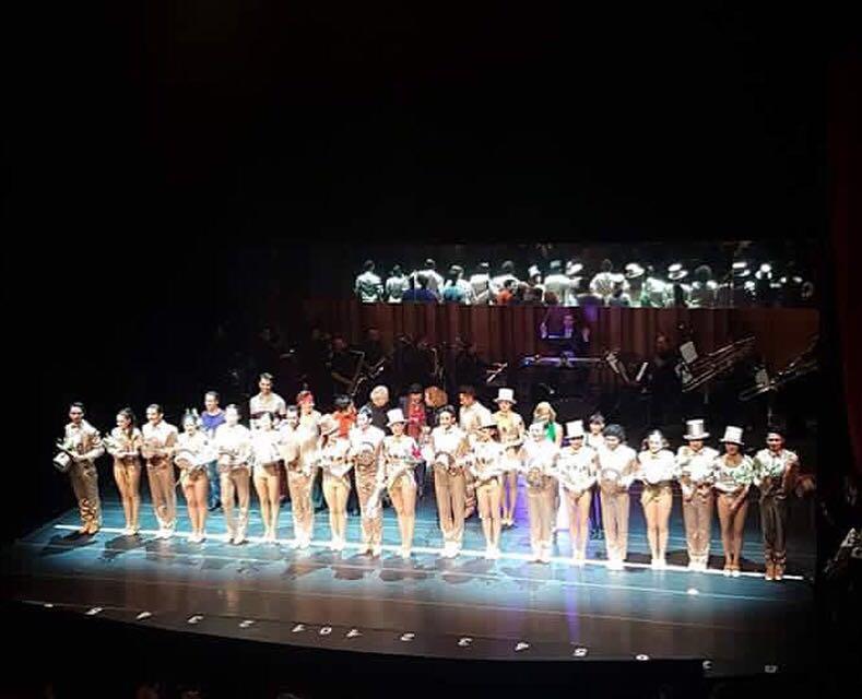 Montaje teatral A Chorus Line