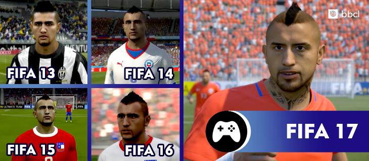Arturo Vidal en la saga FIFA