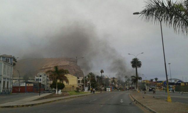 Claudia Bastidas | Protesta de pescadores artesanales en Arica