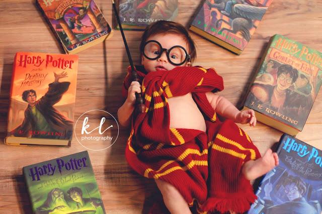 Bebé conquista a corazones con cosplay extremadamente tierno de Harry Potter