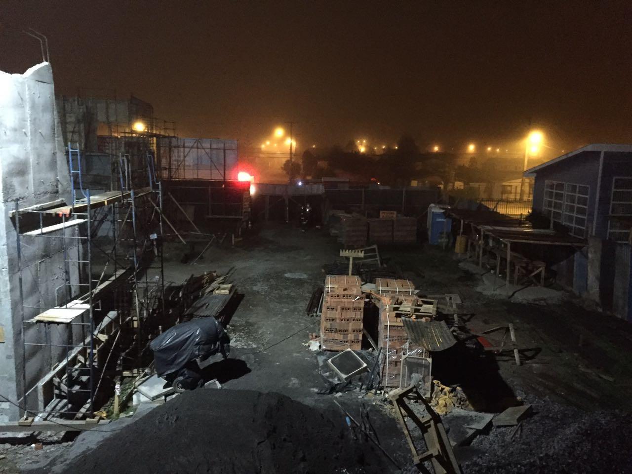 Investigan muerte de nochero en construcción en Temuco