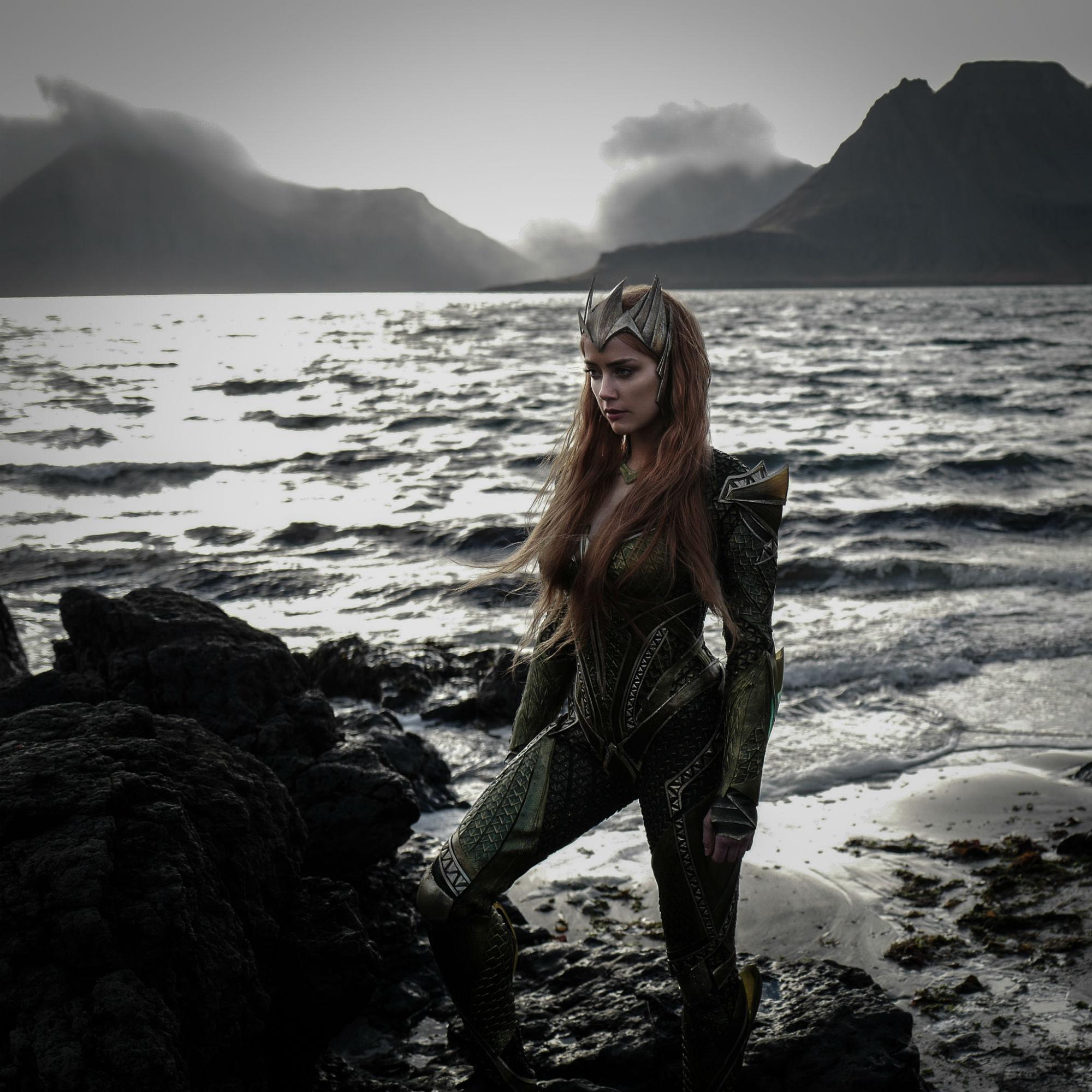 Publican primera foto de Amber Heard como Mera, esposa de Aquaman en Justice League