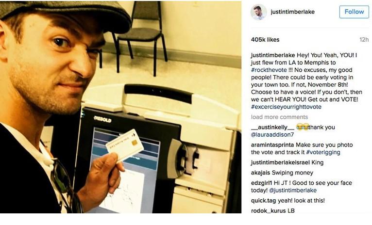 Inofensiva foto podría llevar a la cárcel a Justin Timberlake