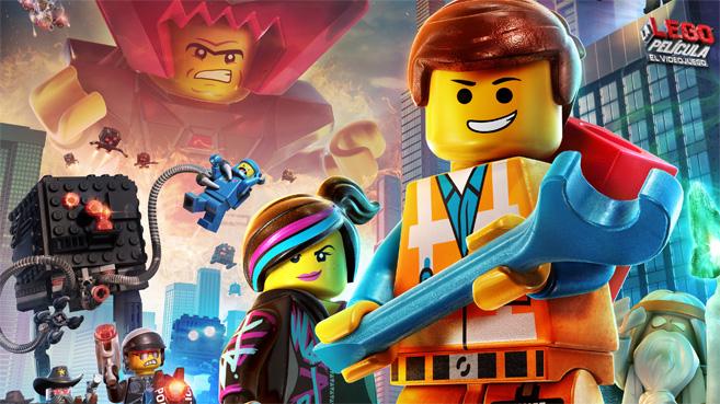 """Imagen promocional de """"Lego, la película""""."""