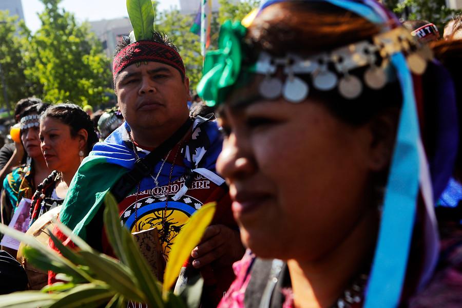 Marcha a favor de Francisca Linconao |  Cristobal Escobar | Agencia UNO