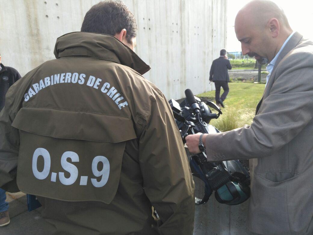 Tipo de cámara que fue robada desde oficinas de TVN