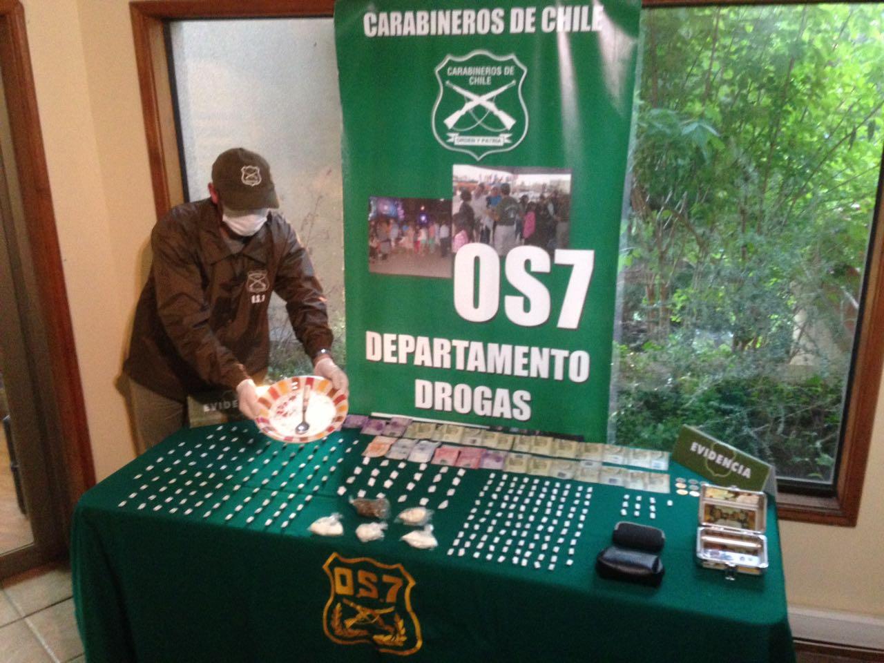 Drogas incautadas Chiguayante