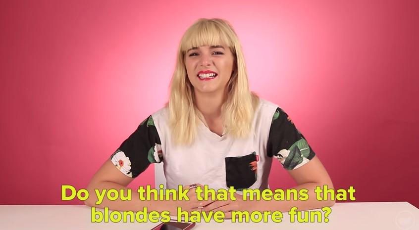 """""""Teñí mi pelo rubio y la gente me trató de manera diferente"""""""