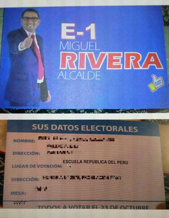 PROPAGANDA DE MIGUEL RIVERA