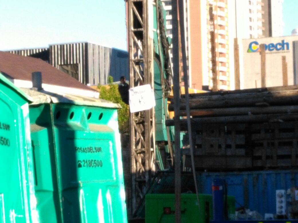 PROTESTA DE VECINOS POR CONSTRUCCIÓN DE EDIFICIO