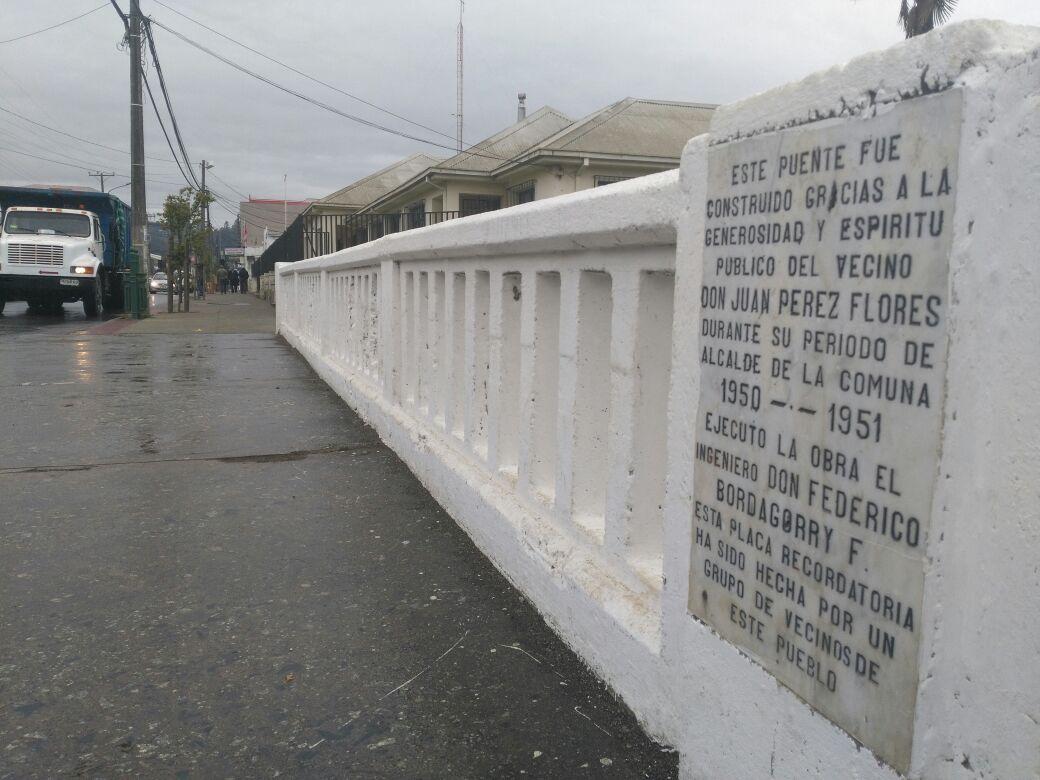 Puentes sobre estero de Penco