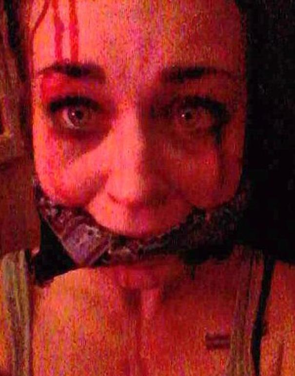 Imagen que la joven envió mientras supuestamente estaba secuestrada | The Sun