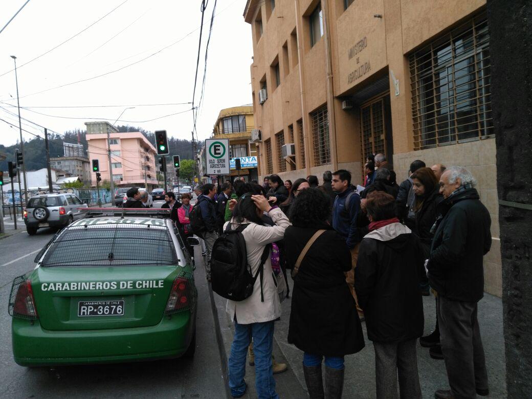 Robo afecta a oficinas de Seremi de Agricultura en Concepción
