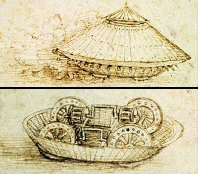 Leonardo Da Vinci / Códice del Tanque