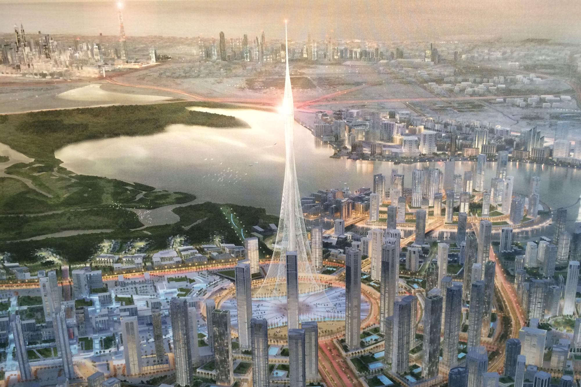 se inicia construccin del nuevo edificio ms alto del mundo en dubai