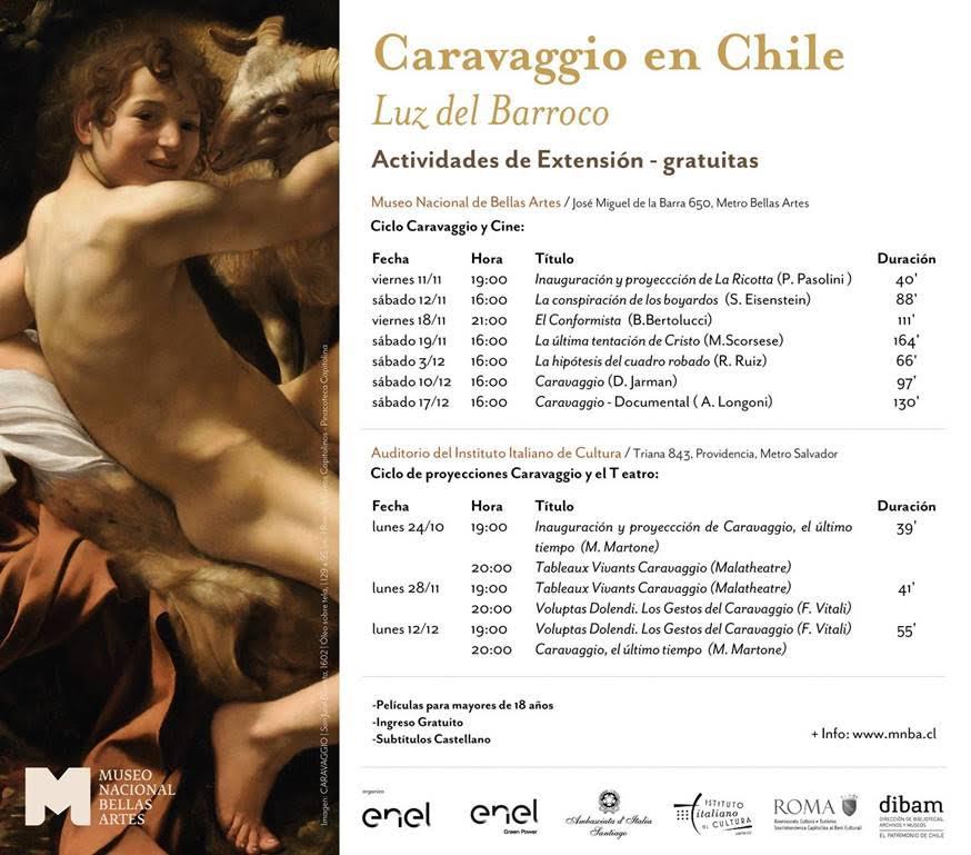 """Programa del ciclo """"La luz del barroco"""""""
