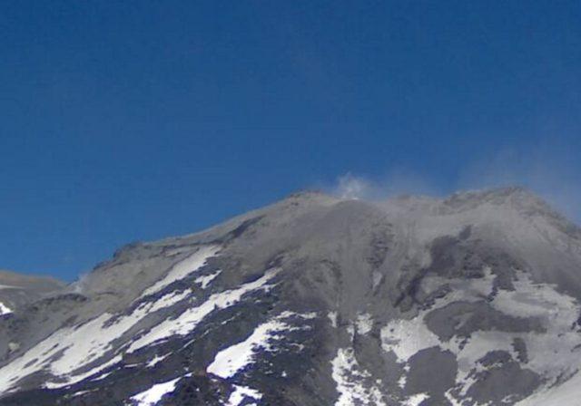 Registro de la nueva actividad de Nevados de Chillán