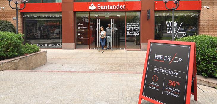 Conoce el innovador servicio bancario que se instaur en chile for Sucursales y cajeros santander