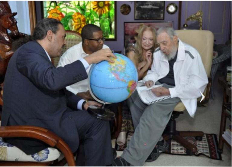 La última fotografía de Castro, el 10 de mayo pasado | Agencia France-Presse | www.cubadebate.cu | Estudios Revolucion