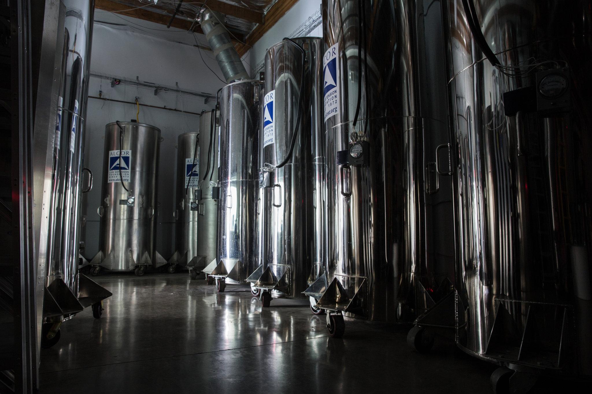 El laboratorio donde almacenan los órganos y cuerpos en Alcor
