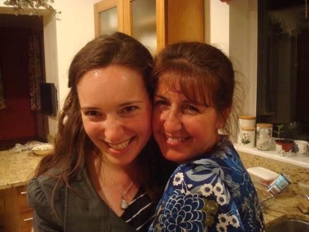 Francie junto a Nadine