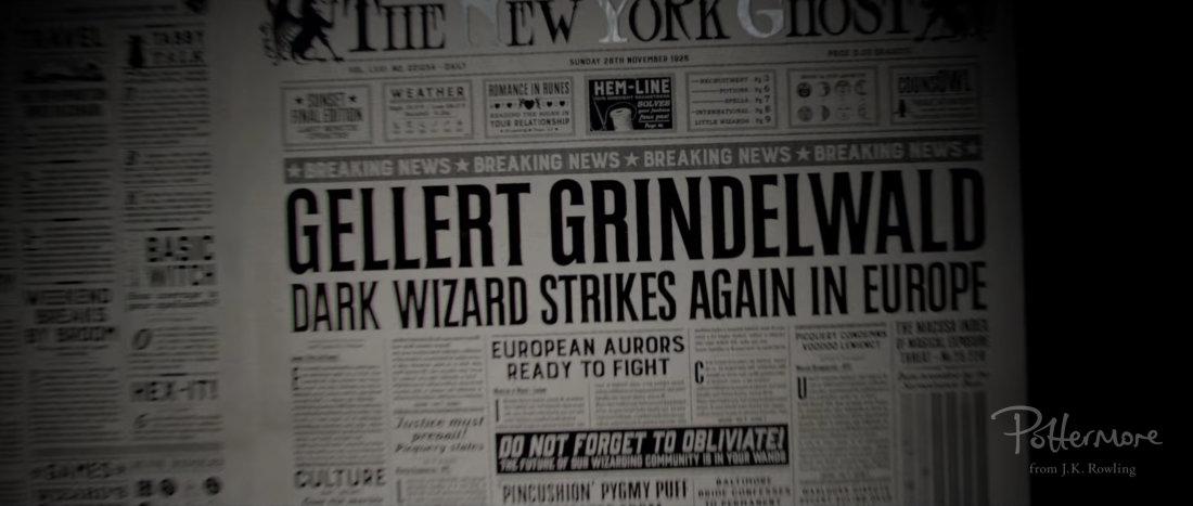 "Confirman que Johnny Depp será villano pareja de Dumbledore en ""Animales fantásticos"""