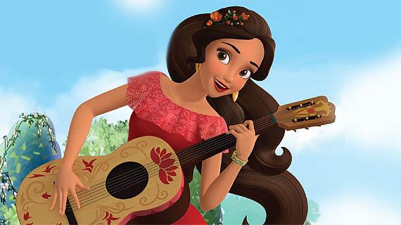 Serie animada Elena de Avalor, Disney Channel