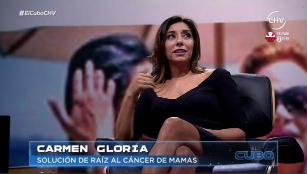 Carmen Gloria Arroyo relata cómo ha mejorado su vida a tres años de la mastectomía