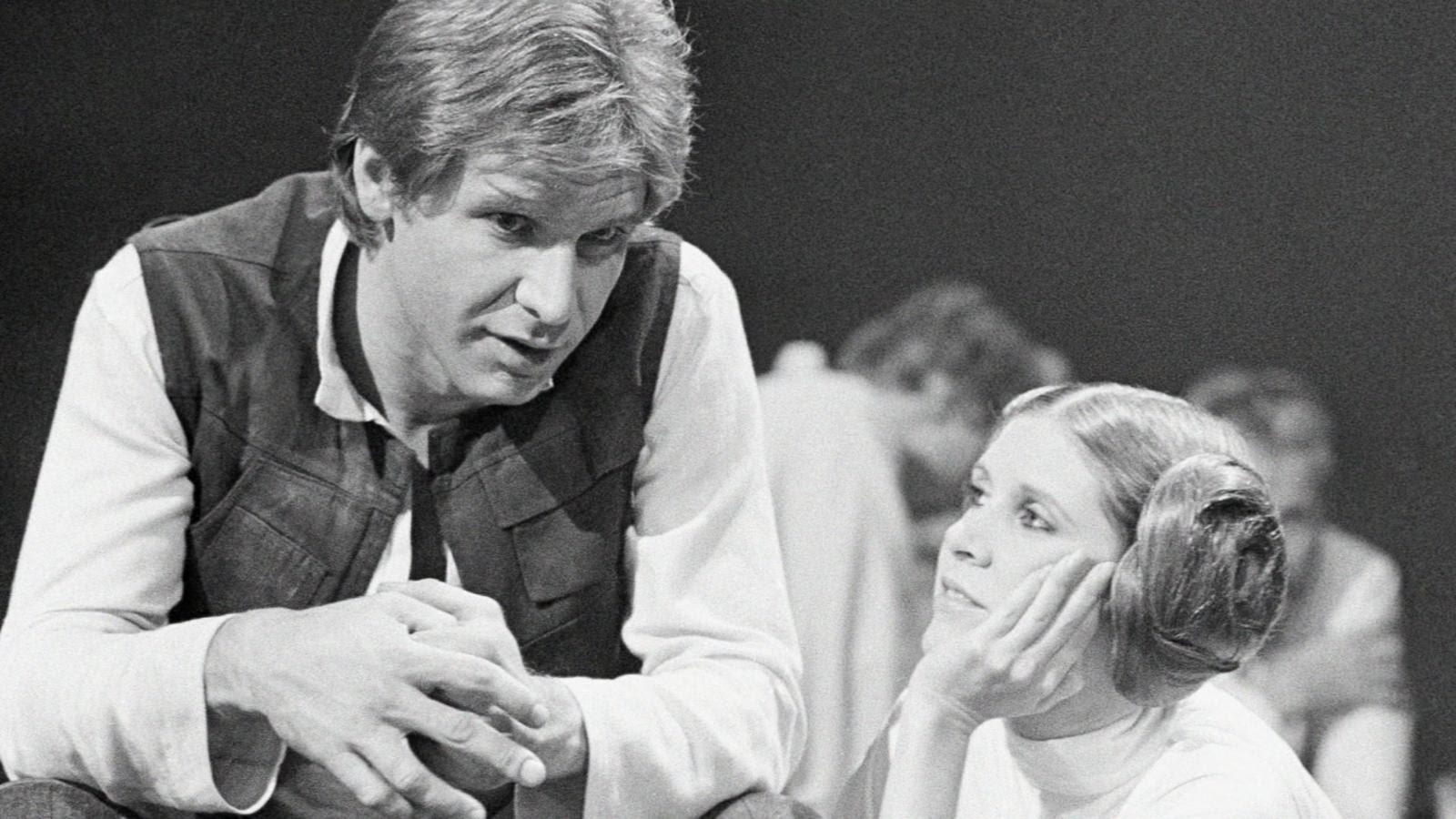 Carrie Fisher tuvo un intenso romance con el entonces casado Harrison Ford en los