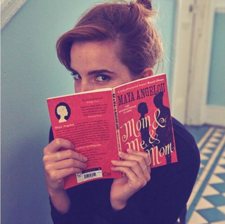Emma Watson escondió libros en el metro de Londres con mensajes secretos en su interior
