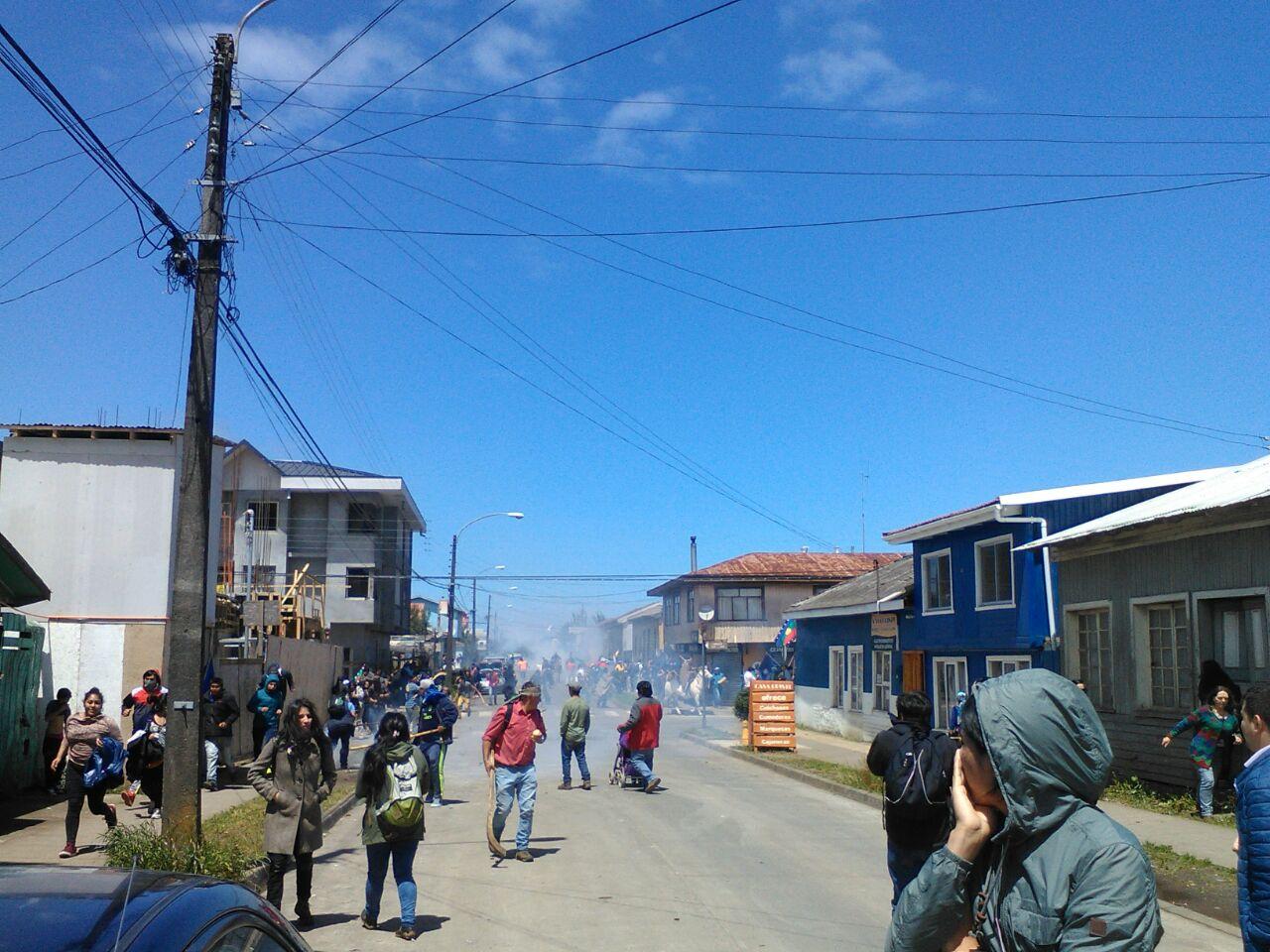 Enfrentamientos en Cañete