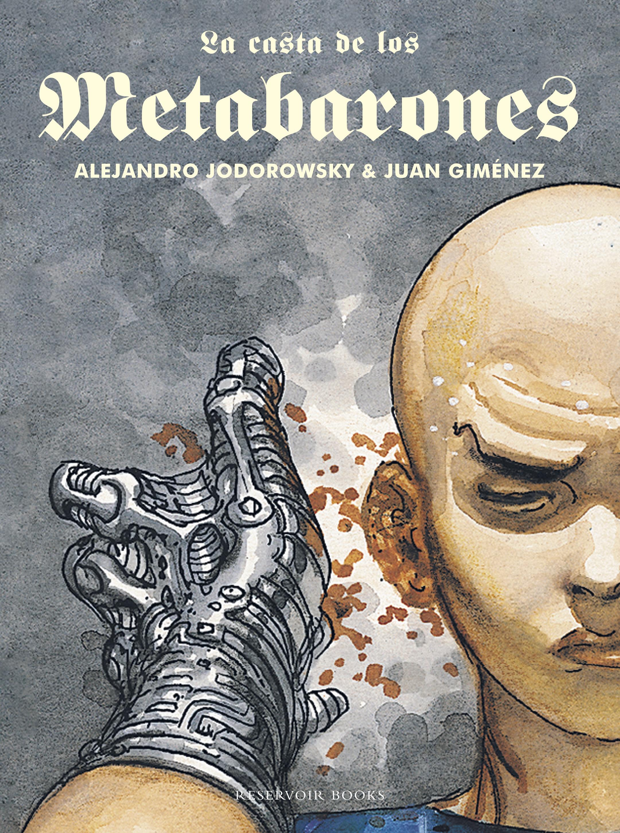 """portada del libro """"La casta de los metabarones"""""""