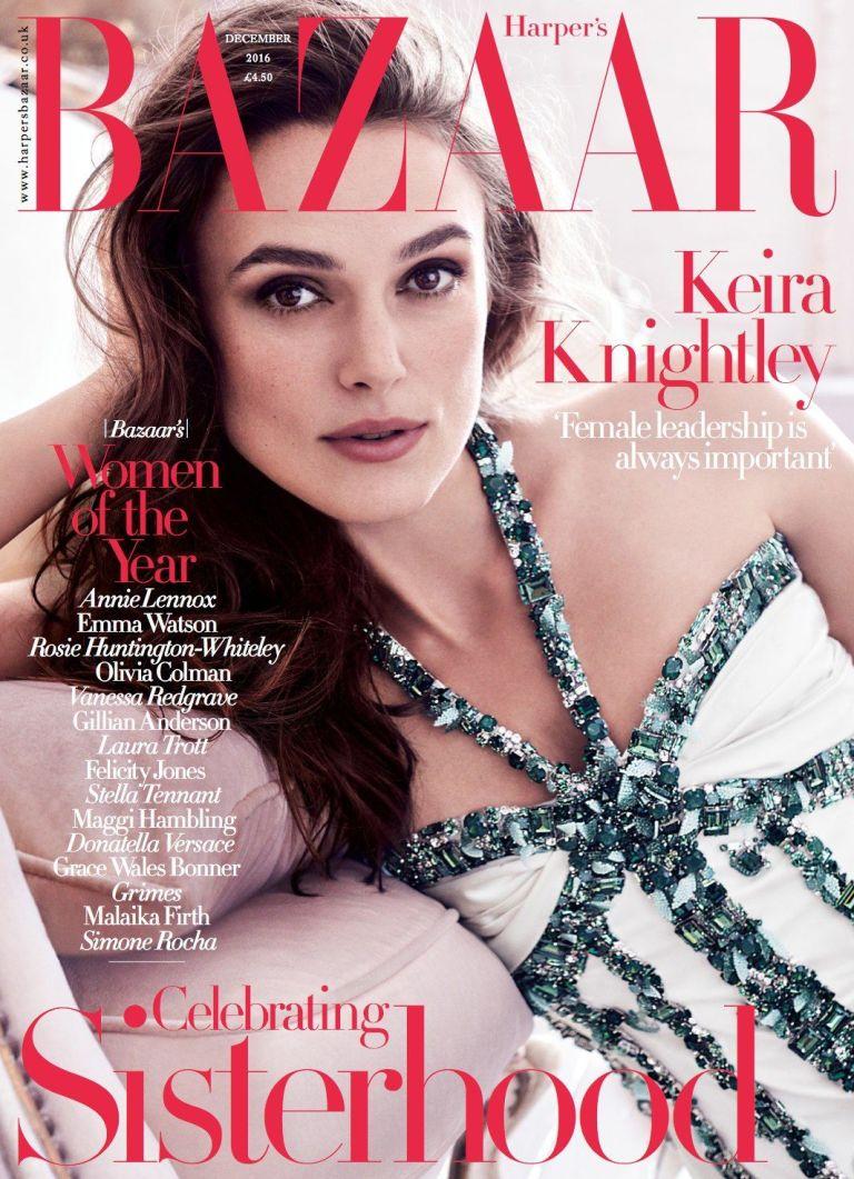 """Keira Knightley y la presión por perder peso tras dar a luz: """"A la mierda con eso"""""""