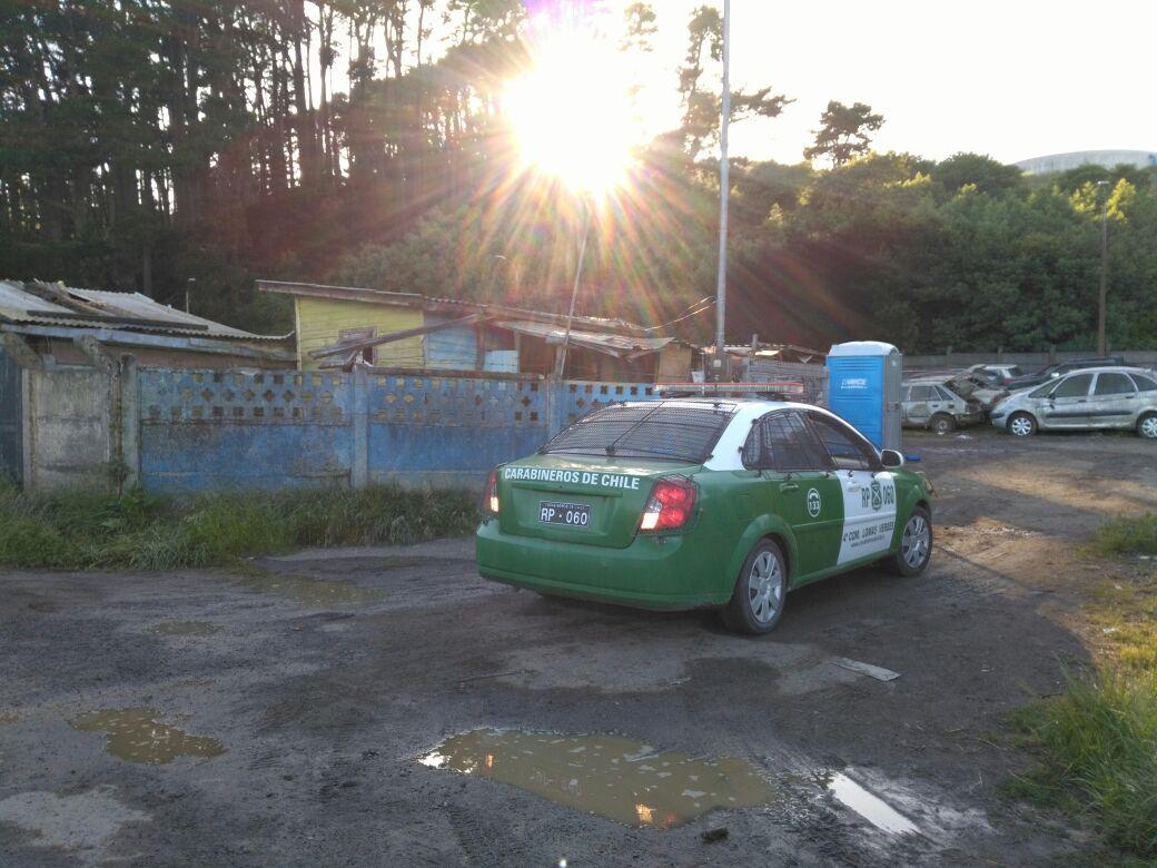 investigan incendio en corralón municipal de Concepción