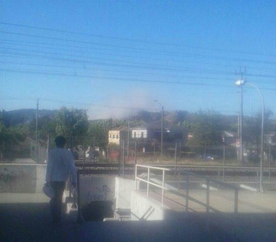 4 incendios afectan a la región de Valparaíso, aunque se encuentran cerca de ser controlados