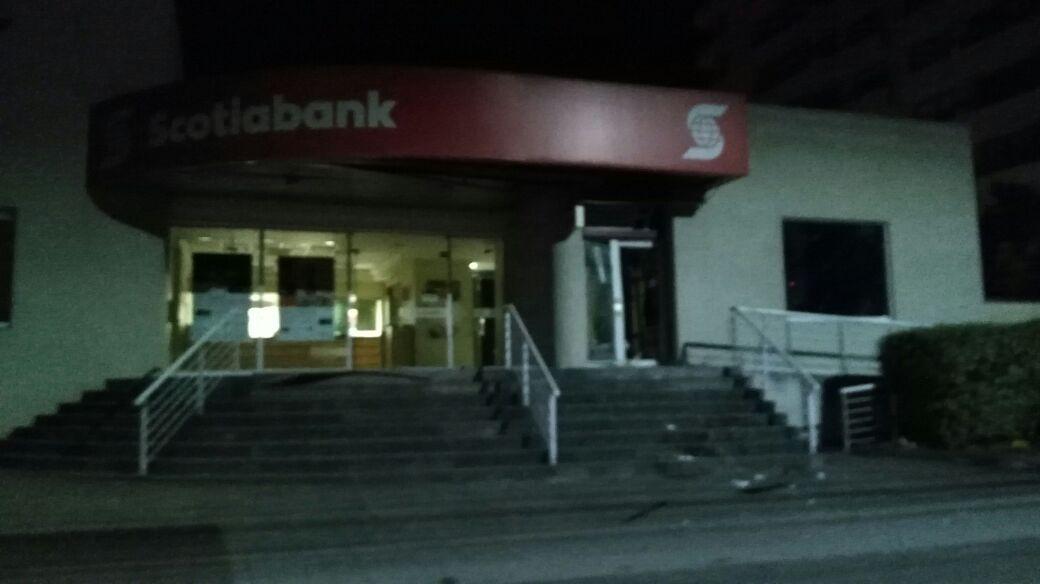 Intento de robo de cajero automático en Pedro de Valdivia