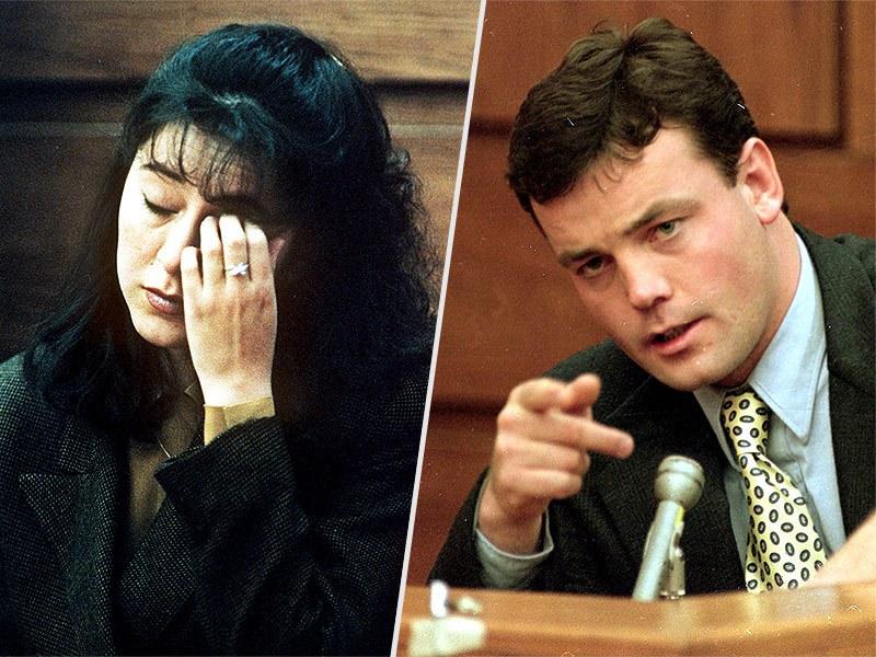 Lorena y John Bobbit en 1993