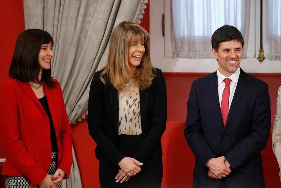 Ministros salientes | Agencia UNO