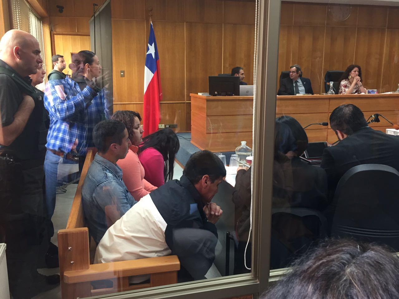 Tres adultos y una adolescente declarados culpables por brutal crimen de mujer en Angol